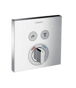 hansgrohe Shower Select  Inbouw douche thermostaatkraan 2 weg met omstel set