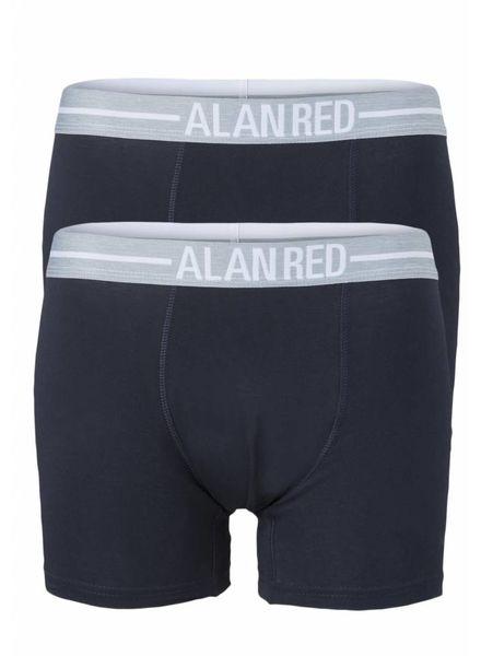 Alan Red 7001-06 d.Blauw/Blauw 2-packboxer