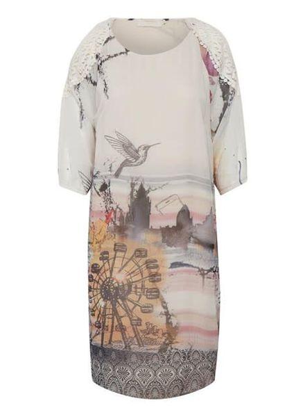 Cream 10603407- Addie dress