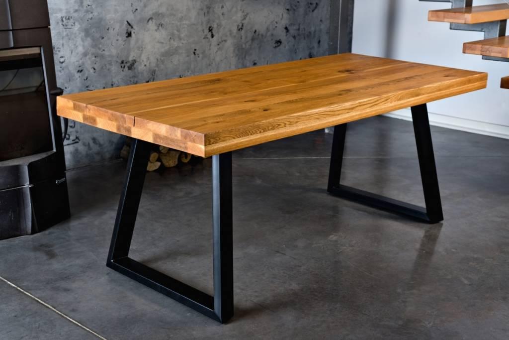 Sitzholz Tisch JOHN