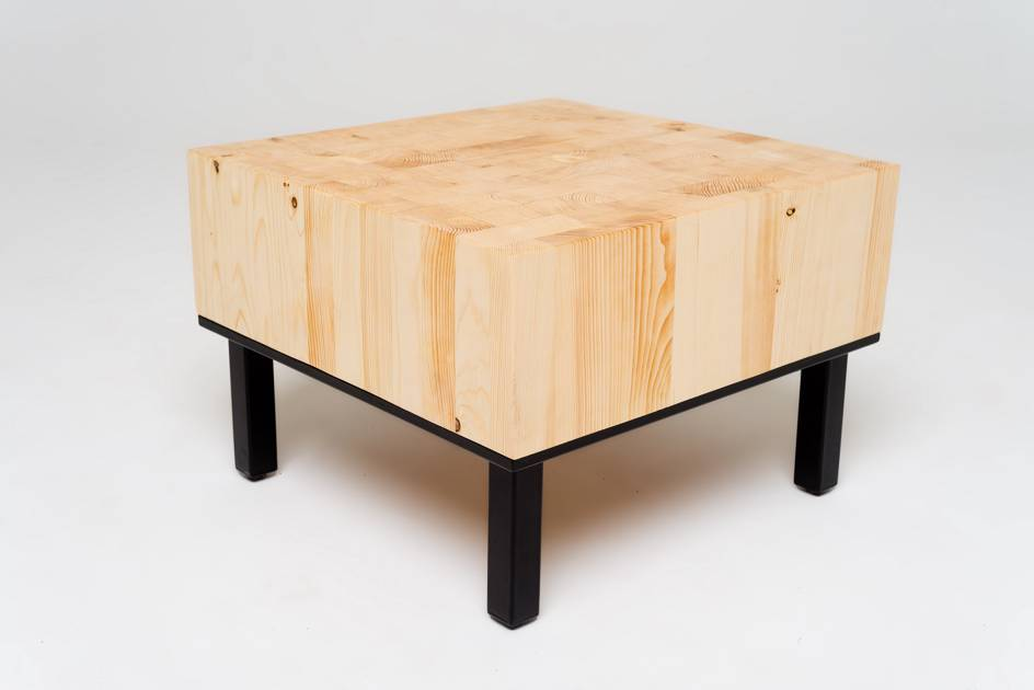 Sitzholz Beistelltisch KENO
