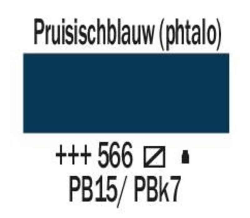 Amsterdam acrylverf 120ml standard 566 Pruisischblauw (phtalo)