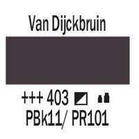 Amsterdam acrylverf 1 liter standard 403 Van Dijckbruin