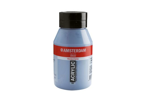 Amsterdam Amsterdam acrylverf 1 liter standard 562 Grijsblauw