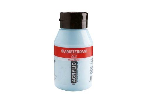 Amsterdam Amsterdam acrylverf 1 liter standard 551 Hemelsblauw licht