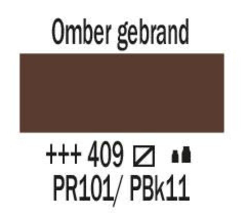 Amsterdam acrylverf 1 liter standard 409 Omber gebrand