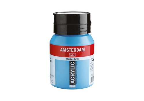 Amsterdam Amsterdam acrylverf 500ml standard 517 Koningsblauw