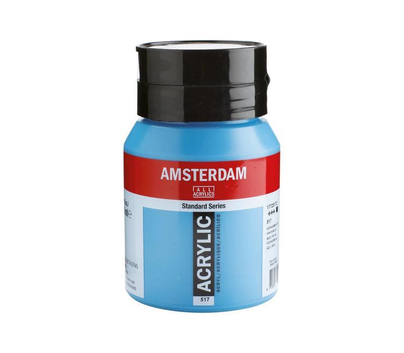 Amsterdam acrylverf 500ml standard 517 Koningsblauw