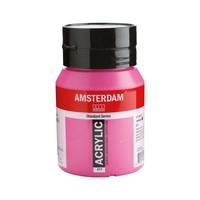 Amsterdam acrylverf 500ml standard 577 Permanentrood violet licht