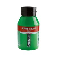 Amsterdam acrylverf 1 liter standard 618 Permanentgroen licht