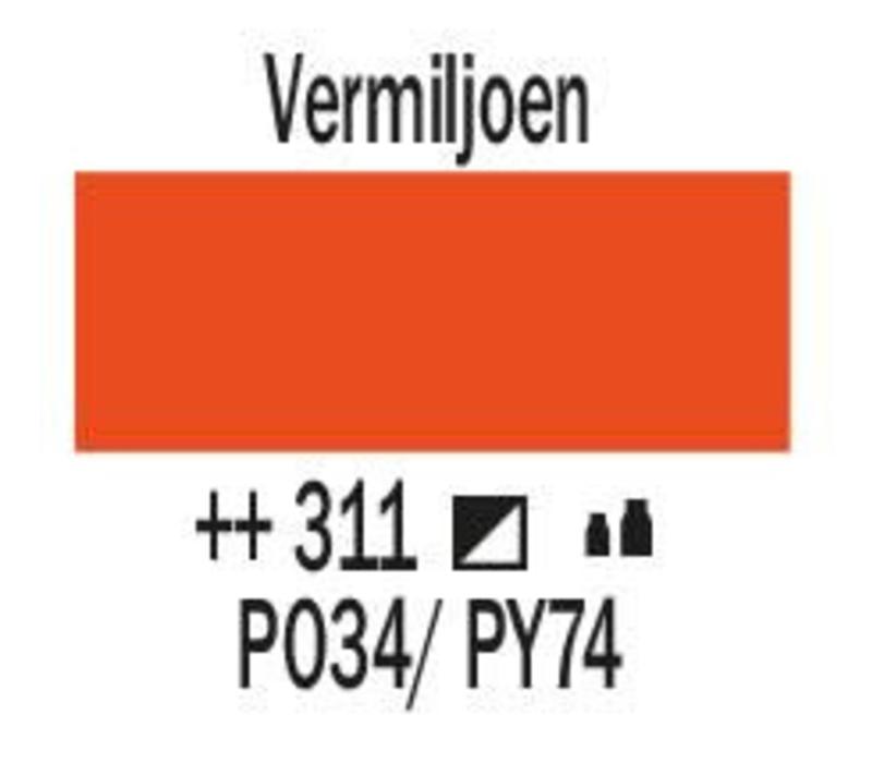 Amsterdam acrylverf 1 liter standard 311 Vermiljoen