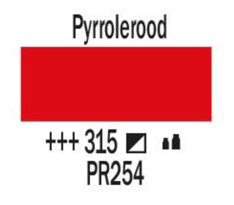 Amsterdam acrylverf 1 liter standard 315 Pyrrolerood