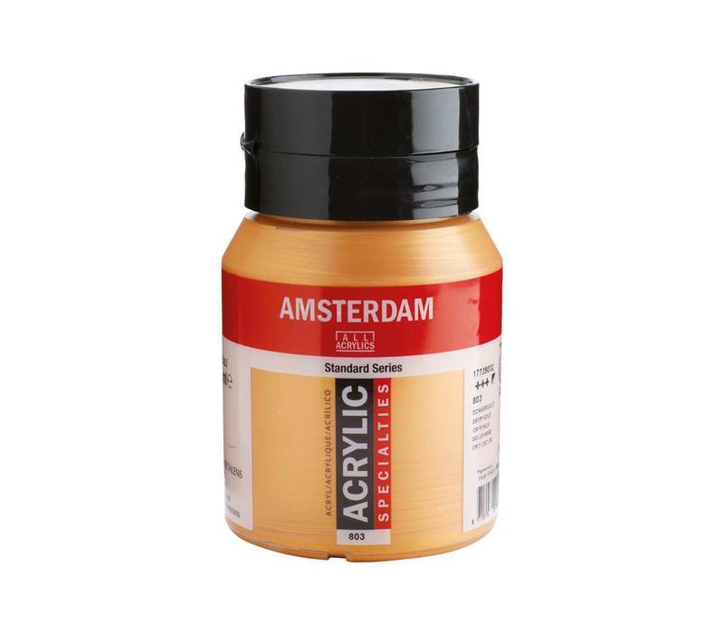 Amsterdam acrylverf 500ml standard 803 donkergoud