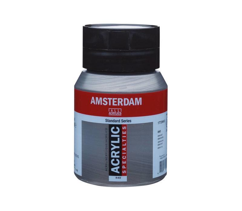 Amsterdam acrylverf 500ml standard 840 Grafiet