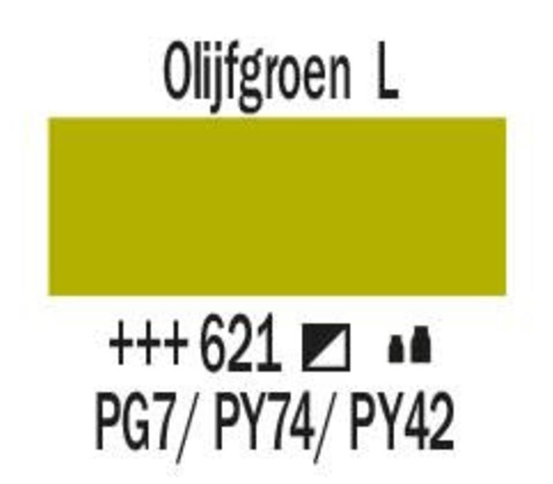 Amsterdam acrylverf 500ml standard 621 Olijfgroen licht