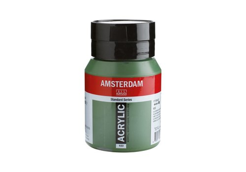 Amsterdam Amsterdam acrylverf 500ml standard 622 Olijfgroen donker