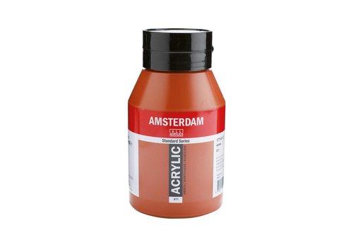 Amsterdam Amsterdam acrylverf 1 liter standard 411 Sienna gebrand