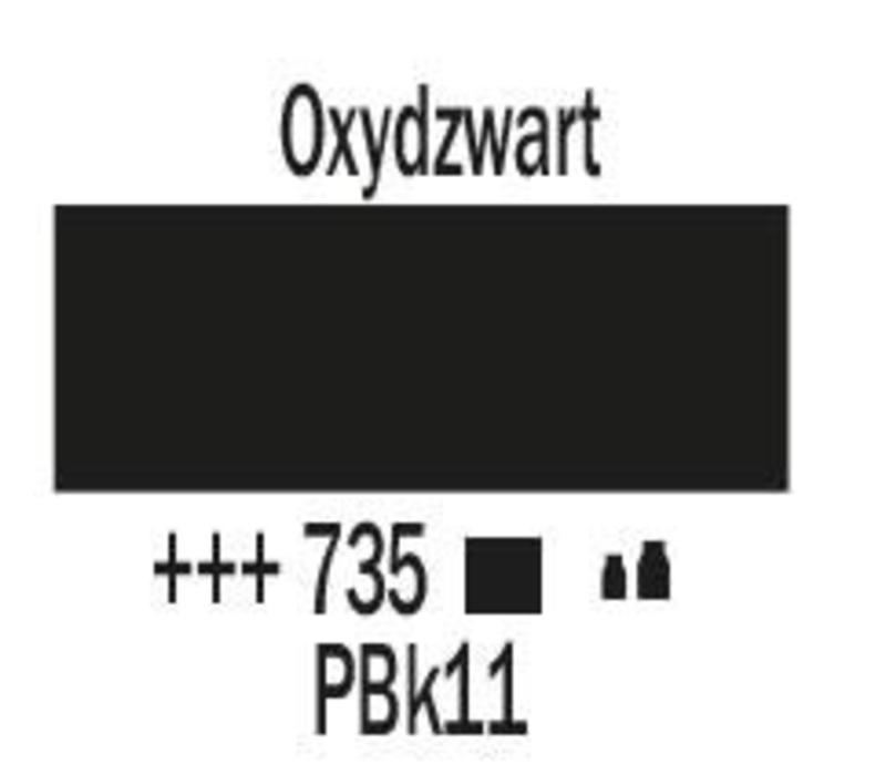 Amsterdam acrylverf 1 liter standard 735 Oxydzwart
