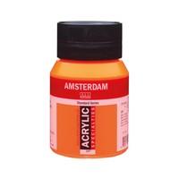 Amsterdam acrylverf 500ml standard 257 reflexoranje
