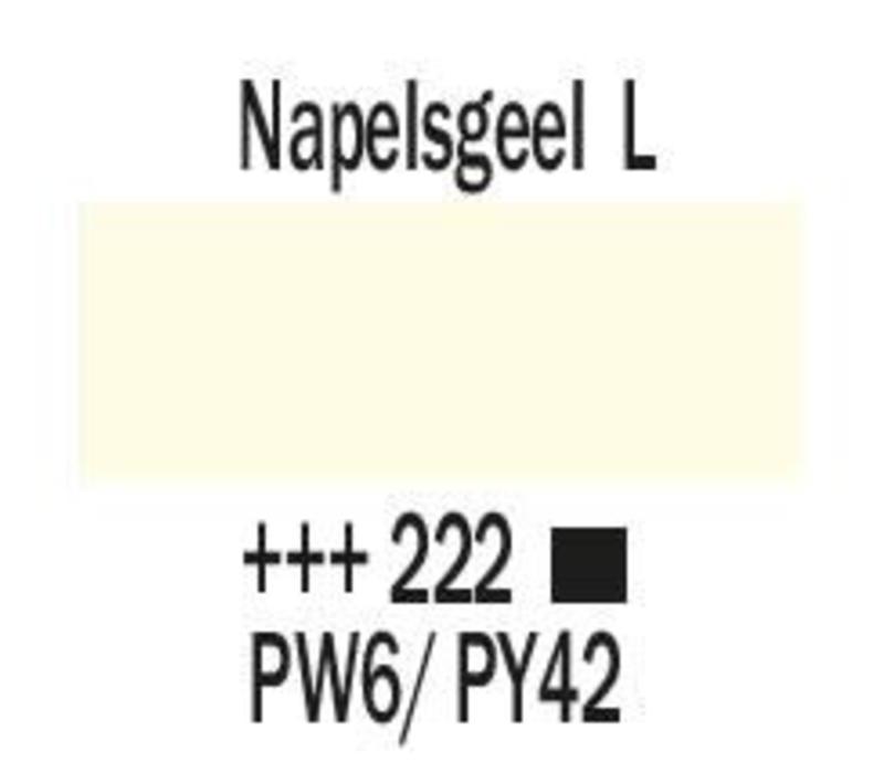Amsterdam acrylverf 500ml standard 222 Napelsgeel licht