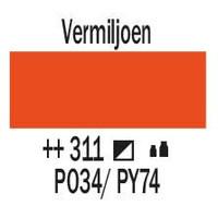 Amsterdam acrylverf 500ml standard 311 Vermiljoen