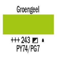 Amsterdam acrylverf 500ml standard 243 Groengeel