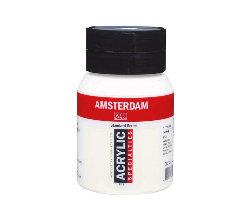 Amsterdam acrylverf 500ml standard 818 Parelgeel
