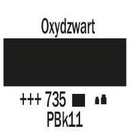 Amsterdam acrylverf 500ml standard 735 Oxydzwart