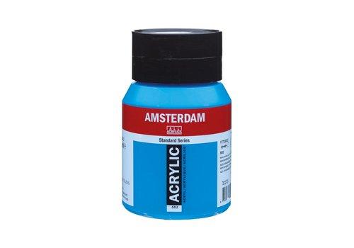 Amsterdam Amsterdam acrylverf 500ml standard 582 Mangaanblauw phthalo