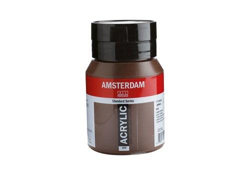 Amsterdam Amsterdam acrylverf 500ml standard 409 Omber gebrand