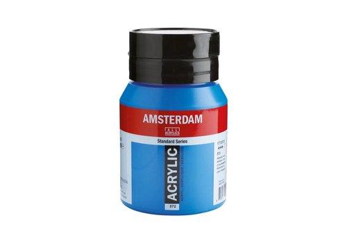 Amsterdam Amsterdam acrylverf 500ml standard 572 Primaircyaan