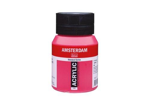 Amsterdam Amsterdam acrylverf 500ml standard 348 Permanentrood purper