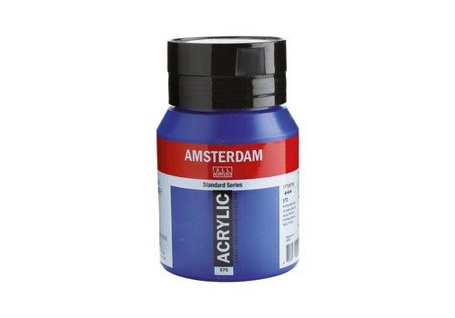Amsterdam Amsterdam acrylverf 500ml standard 570 Phtaloblauw