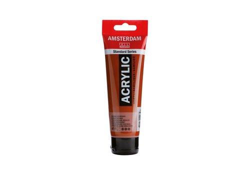 Amsterdam Amsterdam acrylverf 120ml standard 411 Sienna gebrand
