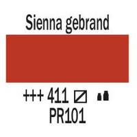 Amsterdam acrylverf 120ml standard 411 Sienna gebrand