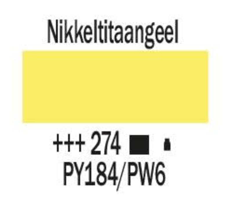 Amsterdam acrylverf 120ml standard 274 Nikkeltitaangeel