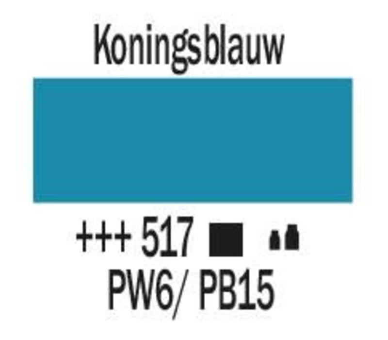Amsterdam acrylverf 1 liter standard 517 Koningsblauw