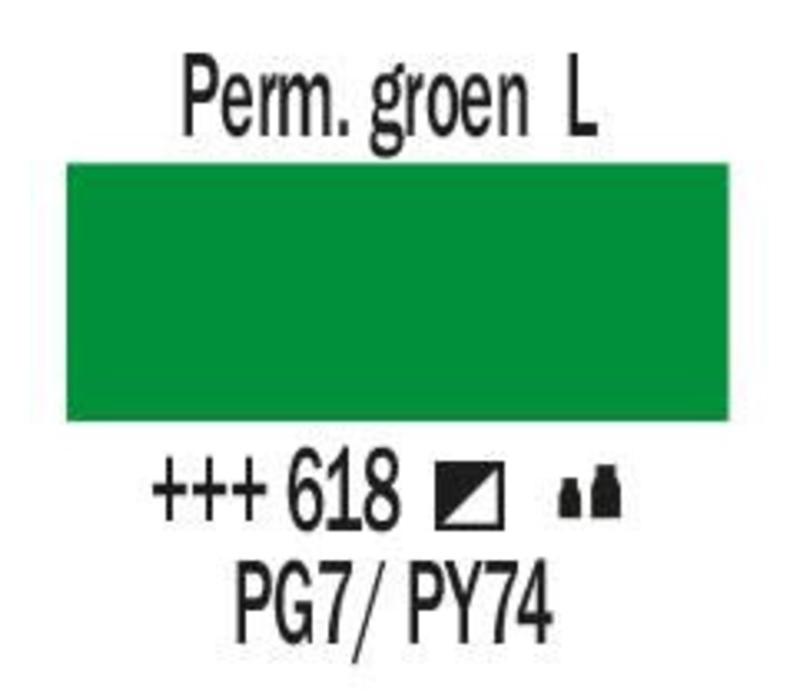 Amsterdam acrylverf 120ml standard 618 Permanentgroen licht