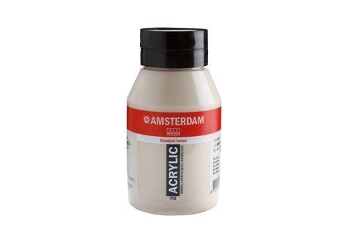 Amsterdam Amsterdam acrylverf 1 liter standard 718 Warmgrijs