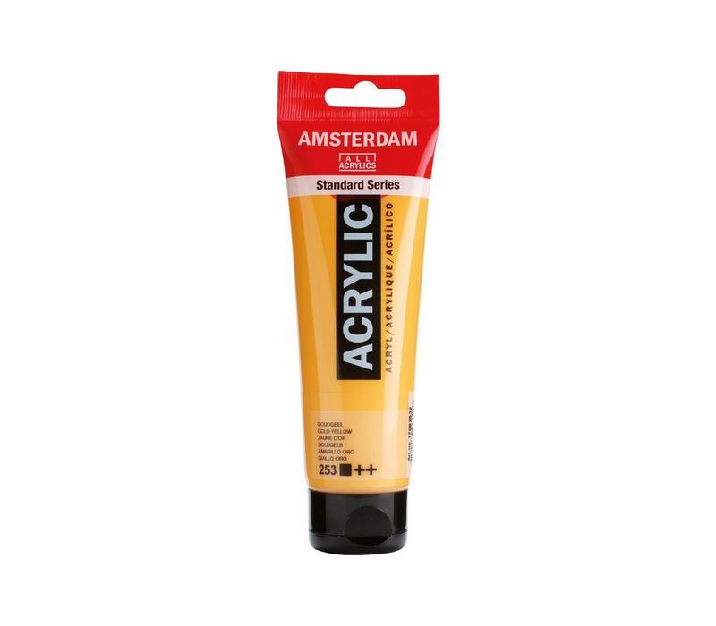 Amsterdam acrylverf 120ml standard 253 Goudgeel