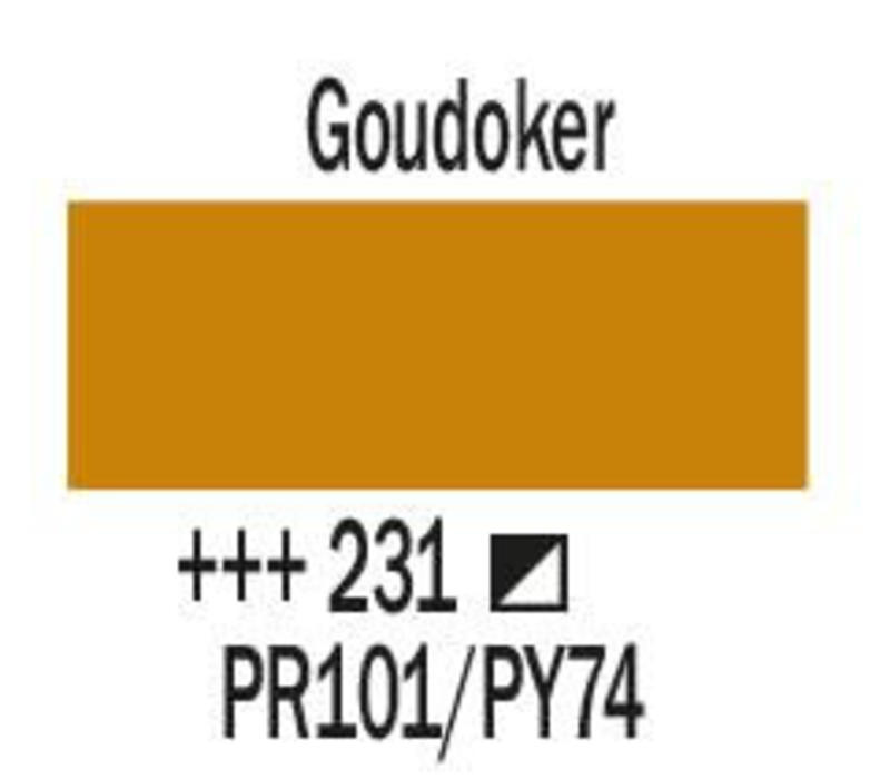 Amsterdam acrylverf 120ml standard 231 Goudoker