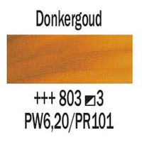 Rembrandt 40ml olieverf 803 Donkergoud