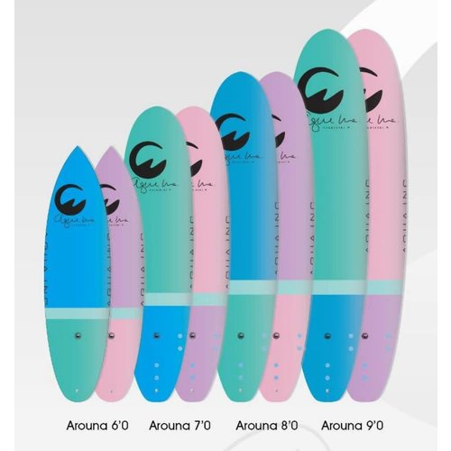 Aqua Inc Surfboards Aqua Inc Arouna 9'0''
