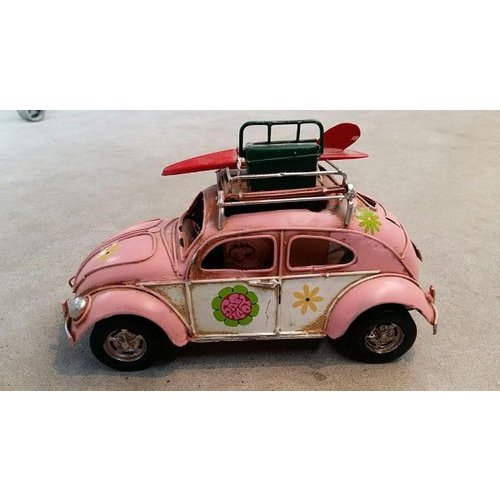 Aloha Surf Huismerk VW Surf Auto Kever (Roze)