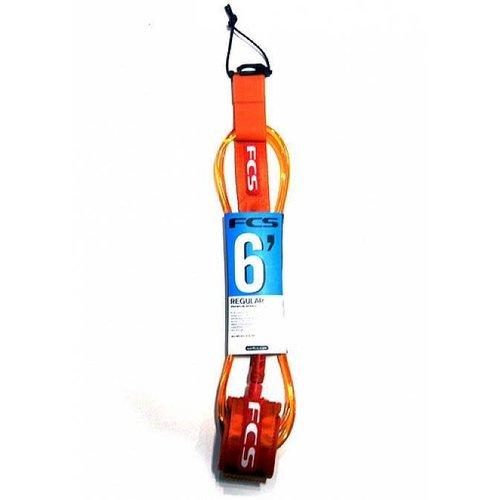 FCS FCS 6ft Regular Ankle Orange Leash