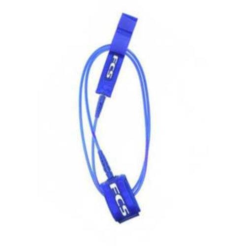 FCS FCS 7ft Regular Essential Ankle Blue Glass Leash