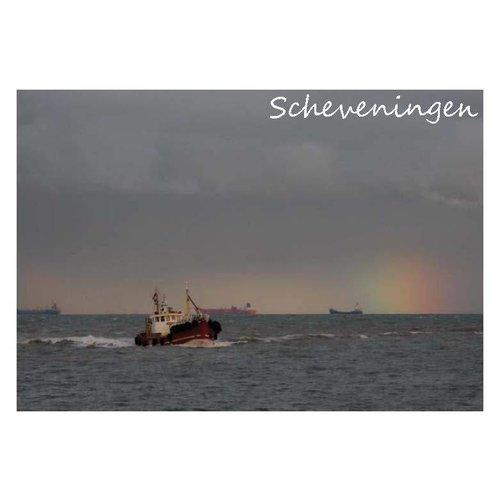 Ivooosterbaan Ivooosterbaan Scheveningen Schip Postkaart