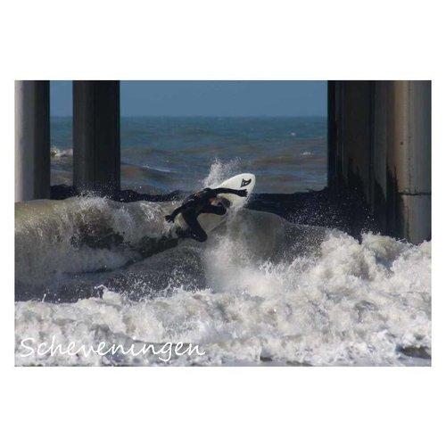 Ivooosterbaan Ivooosterbaan Scheveningen Surfer Pier Postkaart