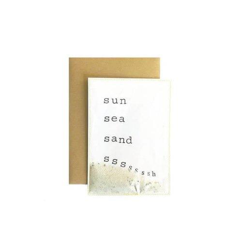 Jet It Flow Jet It Flow Sun, Sea and Ssssh Postkaart