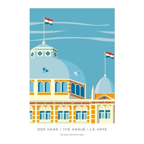 Iconicity Iconicity Kurhaus Scheveningen Postkaart